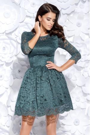 Sukienka koronkowa - zielona