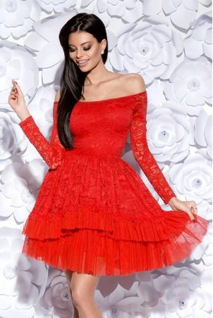 Sukienka Hiszpanka - czerwona
