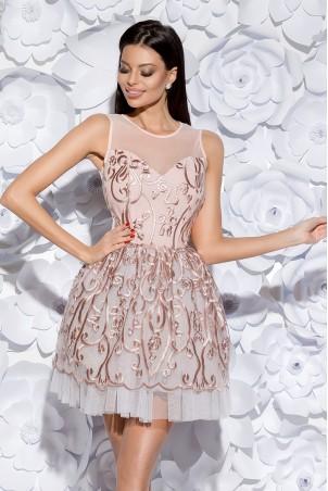 Sukienka księżniczka - jasno różowa