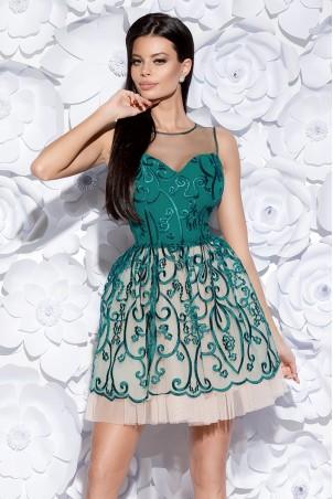 Sukienka księżniczka - zielona