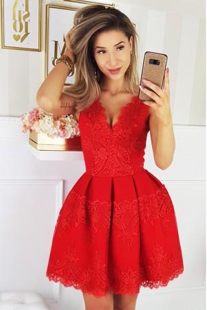 Elegancka sukienka - czerwona