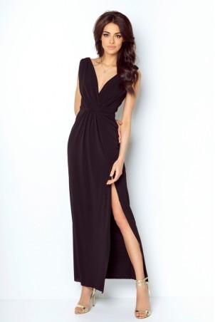 Długa sukienka Dalia - czarna