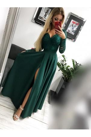 Sukienka wieczorowa Margaret - zielona