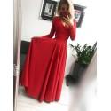Sukienka wieczorowa Margaret - czerwona