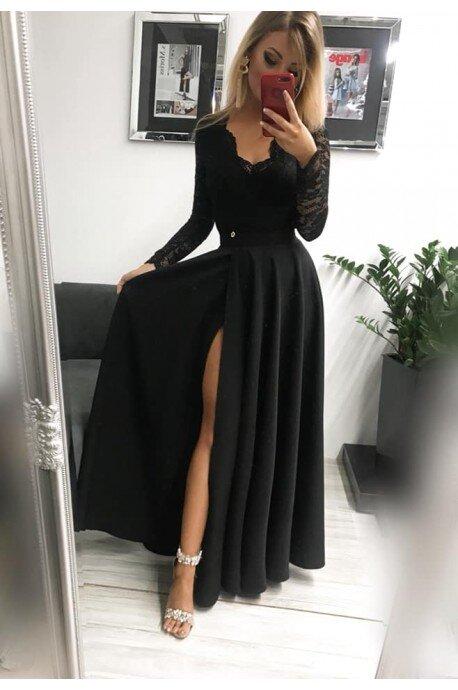 Sukienka wieczorowa Margaret - czarna
