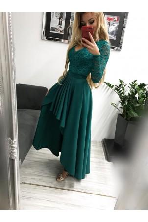 Sukienka wieczorowa Loren - zielona