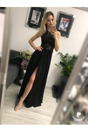 Sukienka wieczorowa Vivien - czarna