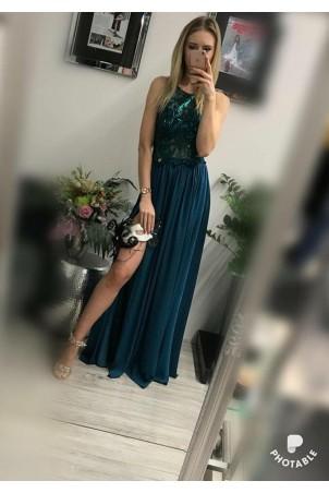 Sukienka wieczorowa Vivien - zielona