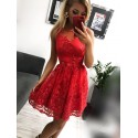Sukienka wieczorowa Alicja - czerwona