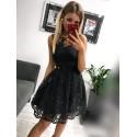 Sukienka wieczorowa Alicja - czarna