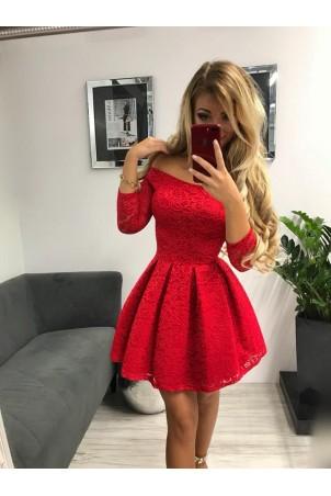 Sukienka wieczorowa Scarlett II - czerwona