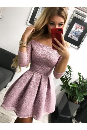 Sukienka wieczorowa Scarlett II - wrzos