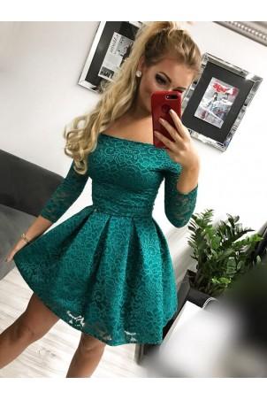 Sukienka wieczorowa Scarlett II - zielona