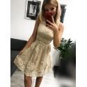 Sukienka wieczorowa Alicja - złota