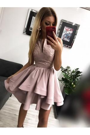 Sukienka wieczorowa Klara - wrzosowa