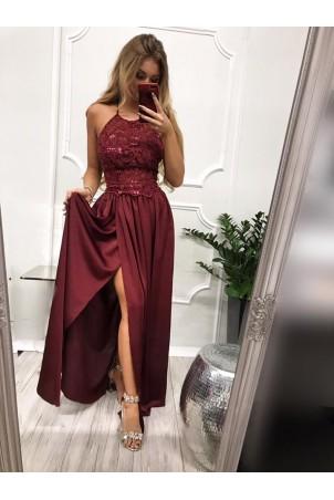 Sukienka wieczorowa Vivien II - bordowy