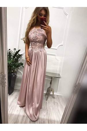Sukienka wieczorowa Vivien II - wrzosowa