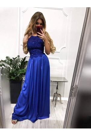 Sukienka wieczorowa Vivien II - chabrowa