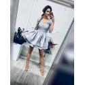 Sukienka wieczorowa Glamour II - szara