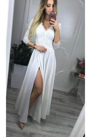 Sukienka wieczorowa Margaret - biała