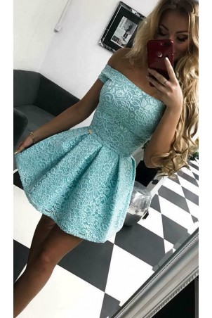 Sukienka koronkowa Scarlett II - miętowa