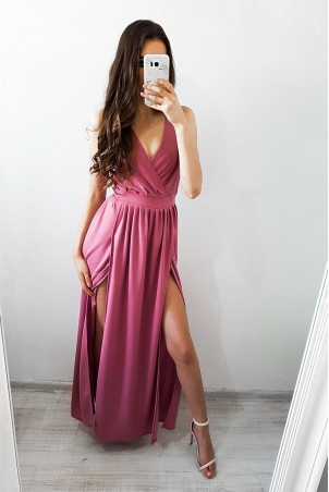 Sukienka Camilla - brudny róż