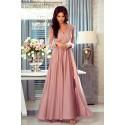bf5cebf2f9 Długa koronkowa sukienka Ophelia - nude - Pretty Clever Sklep ...
