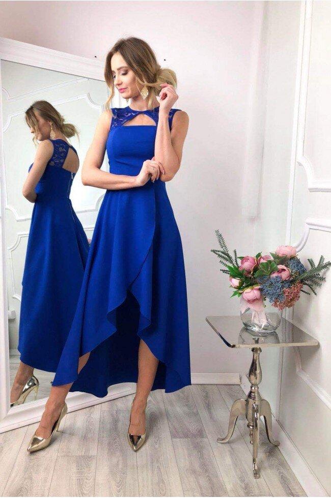 297904966d Sukienka wieczorowa Penelope - chabrowa - Pretty Clever Sklep ...