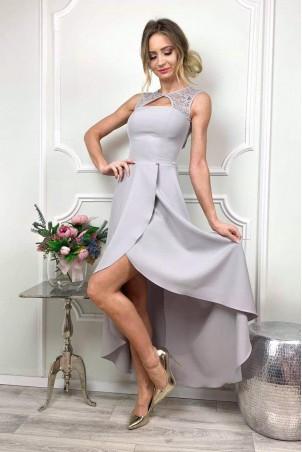Sukienka wieczorowa Penelope - szara