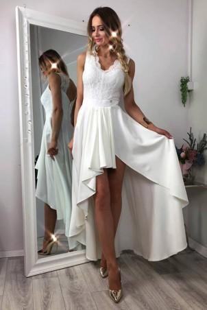 Sukienka wieczorowa Loren - biała