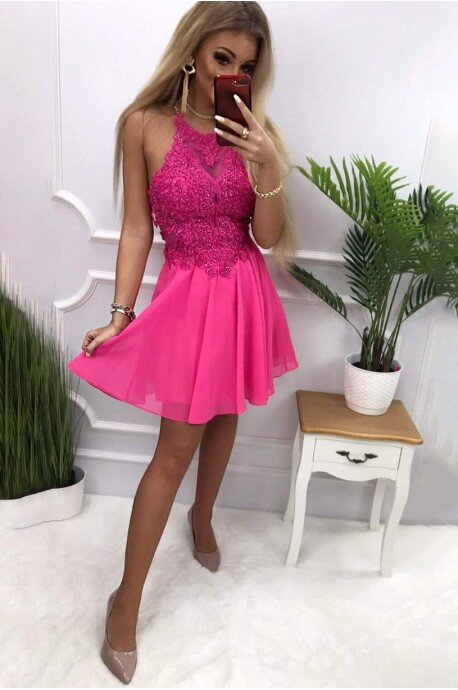 Sukienka wieczorowa Gina - fuksja