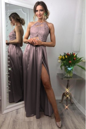 Sukienka wieczorowa Vivien II - wrzos