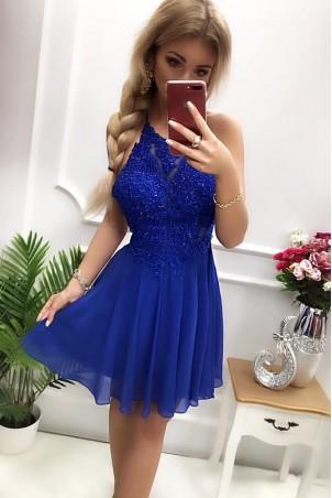Sukienka wieczorowa Gina - chabrowa