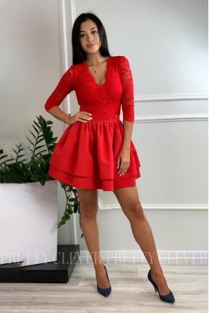 Sukienka wieczorowa Glamour II - czerwona
