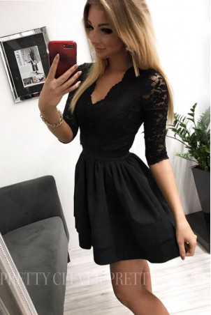 Sukienka wieczorowa Glamour II - czarna