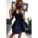 Sukienka wieczorowa Glamour II - granatowa