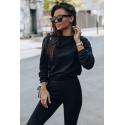 Dres damski bluza i spodnie dresowe Classic - czarny