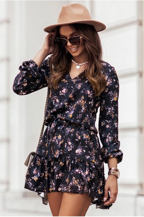 Sukienka w kwiaty RENEE