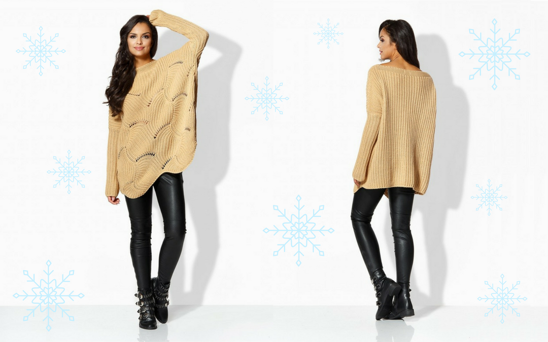 swetry zimowe