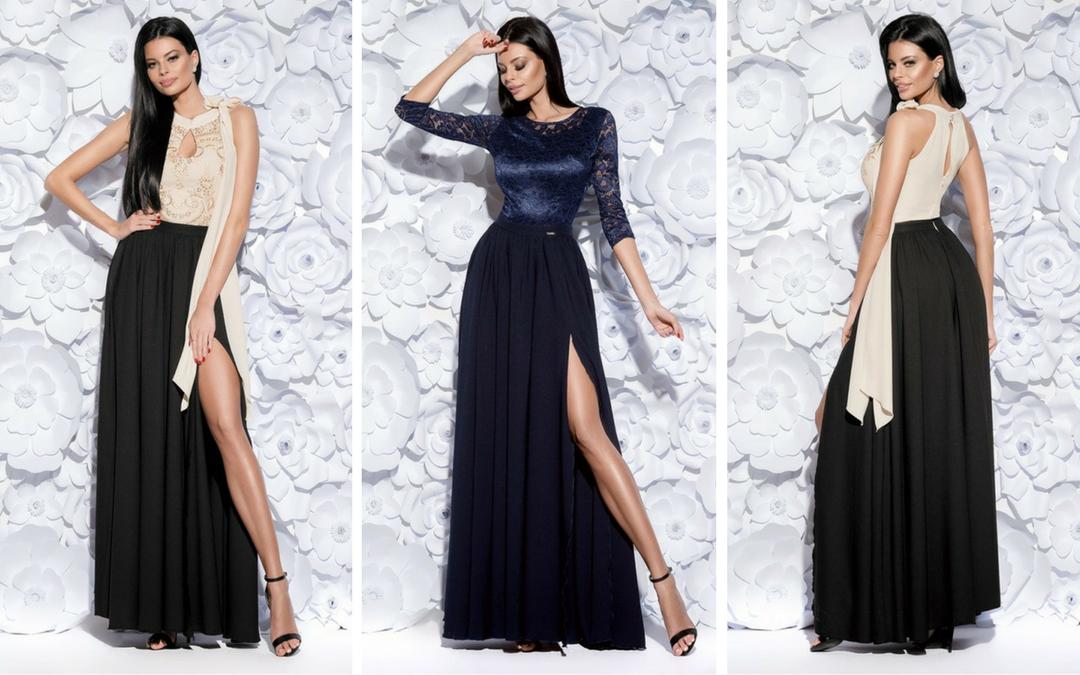 maxi sukienki na studniówkę