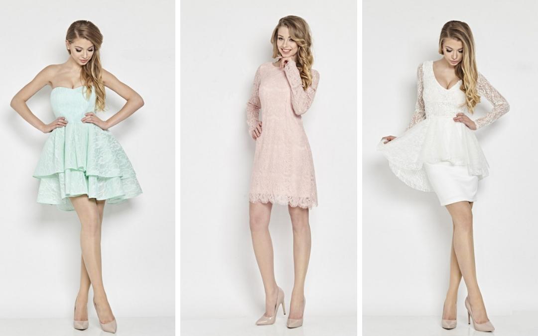 801b12ab Olśniewające sukienki koronkowe - nasze typy - Pretty Clever Blog
