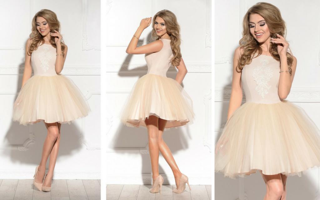 e200d800a43a40 Romantyczna tiulowa sukienka na wesele- Pretty Clever Blog