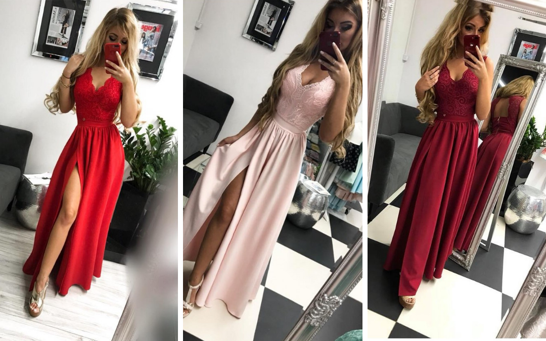 Zachwycające, długie sukienki nastudniówkę 2019