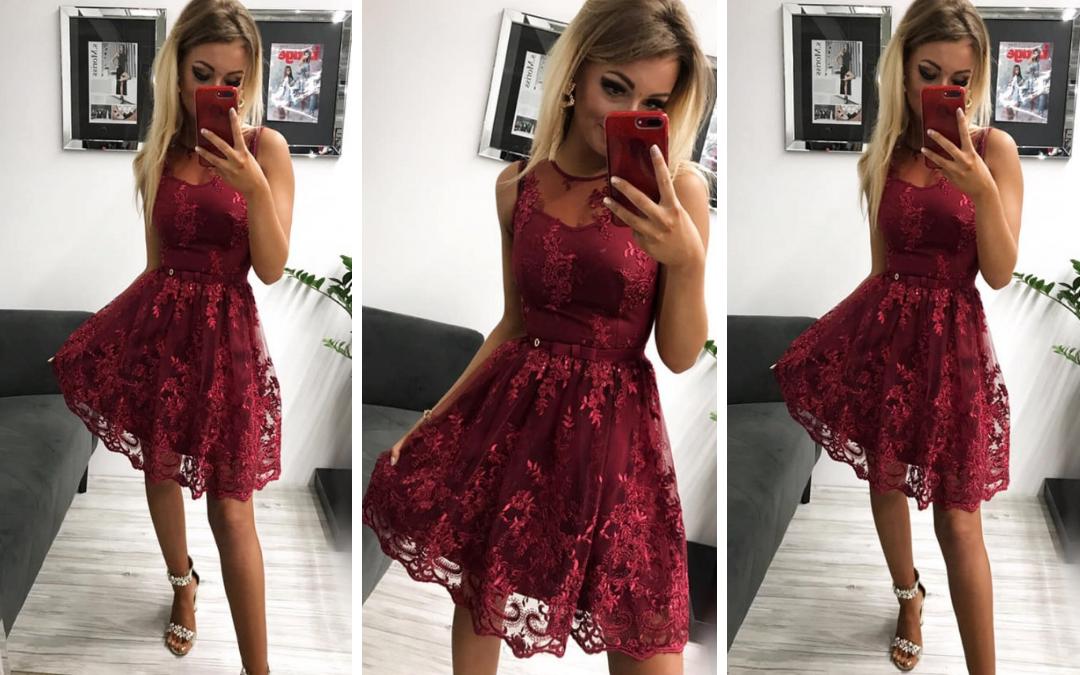 fe028ab7 Koronkowa sukienka na wesele- jaką wybrać? - Pretty Clever Blog