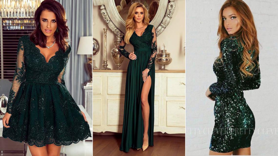 eleganckie sukienki z dlugim rękawem