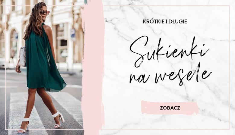 Sukienki na wesele 2021